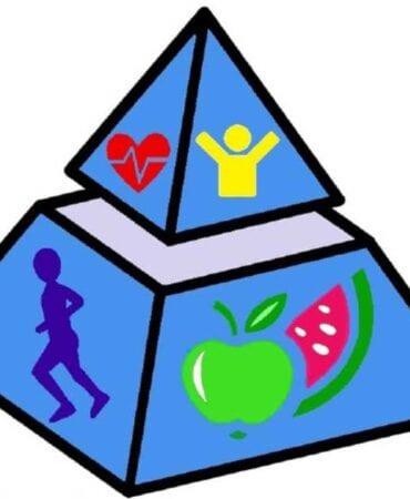 Pyramid Nutrition Services Logo Virtual Health Expo LEGO by A Balanced Life Expos